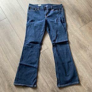 Gap 1969 sexy boot jeans size 31/12 regular